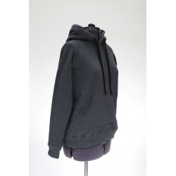 Colour Anthracite Grey. Concealed seam with YKK zipper opening.