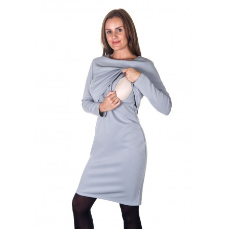 Colour: High Rise Silver. Front layering with a discreet lift up flap.