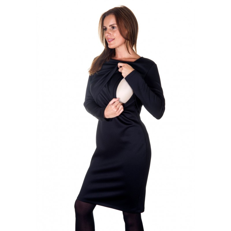 Colour: Black. Front layering with a discreet lift up flap.